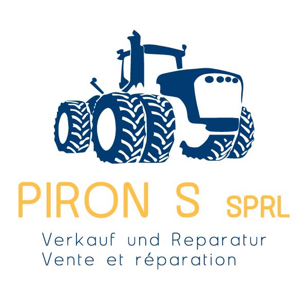 Logo de la société Piron S. SRL (Matériel agricole et génie civil) à Baelen-Eupen